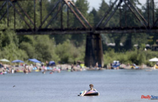 Seattle reaches a record high during the Pacific Northwest...