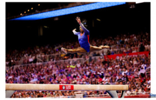 Simone Biles is selected for the Tokyo Olympic Gymnastics...