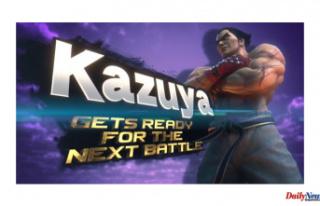 Tekken's Kazuya Mishima is Arriving to Smash...