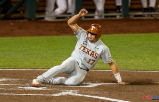 Texas baseball wins the College World Series with...