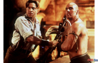The Mummy: Brendan Fraser and Rachel Weisz's...