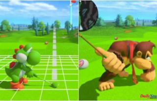 The terror at Yoshi and Donkey Kong's pantslessness...