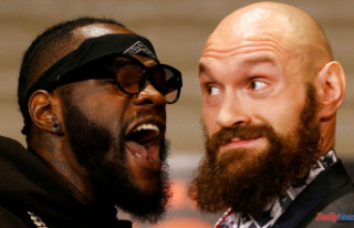 Tyson Fury and Deontay Wilder in Stressed face-off...