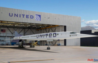 United Airlines will buy 15 Overture aircraft from...