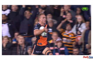 Wests Tigers hand under-strength Penrith Panthers...