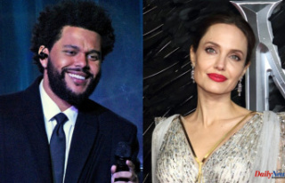 Angelina Jolie and The Weeknd were seen out for dinner...