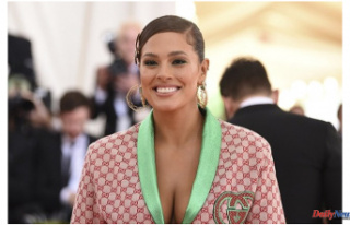 Ashley Graham, model, is pregnant with her second...