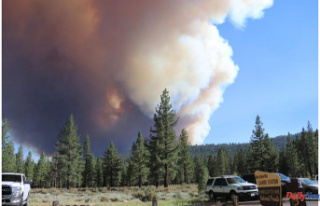 California's Tamarack Fire is rapidly growing;...
