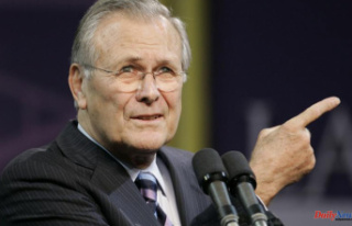 Donald Rumsfeld, a clever leader who was undermined...
