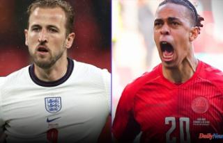 England vs. Denmark: Time and lineups, TV streams,...
