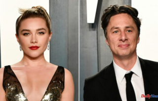 Florence Pugh discusses her relationship with Zach...