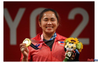 Hidilyn Diaz, a weightlifter from the Philippines,...