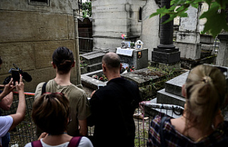 In Paris, 50 Years after his death, Jim Morrison's...