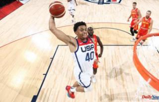 Keldon Johnson's outstanding performance in basketball...