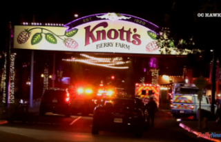 Knott's Berry Farm crowds run in panic after...