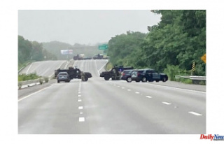 Massachusetts police standoff with heavily armed men...