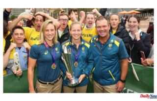 Matthew Mott, Australia coach, says that a lack of...