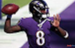 NFL coaches and executives ranked Lamar Jackson as...