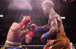Results of the Jermell Charlo-Brian Castano fight:...