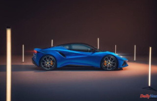 The Lotus Emira is a small sports car inspired by...
