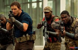 """The Tomorrow War"" asks Chris Pratt for..."