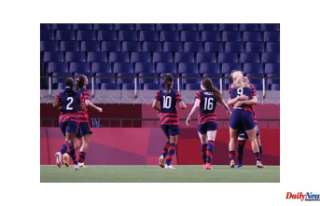 USWNT recovers from defeat with a 6-1 win against...