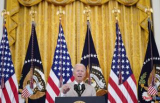 Biden nudges Senate over 'historic' $1T...