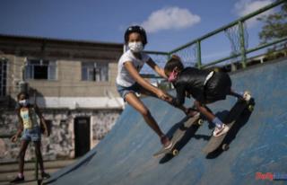 Brazil Olympic Skateboarding is a tropical fairytale...