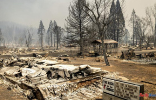 California's third largest wildfire, Wildfire...