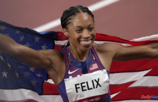 Felix sets an Olympic record on the long journey