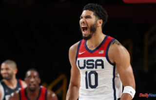 Jayson Tatum adopts an Olympic-themed nickname after...