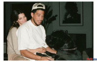 Kendall Jenner congratulates Devin Booker for his...