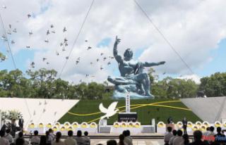 Nagasaki celebrates the 76th anniversary atomic bombing