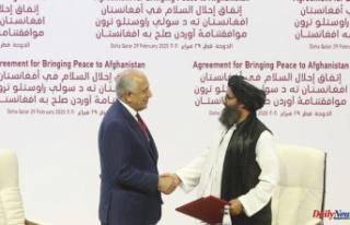 Trump's Taliban deal in Doha landed Biden in...