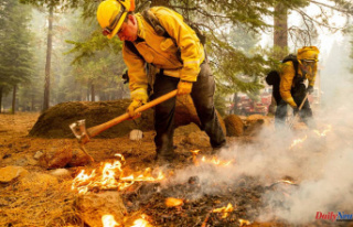 Updates on wildfires: Dixie Fire, third largest in...