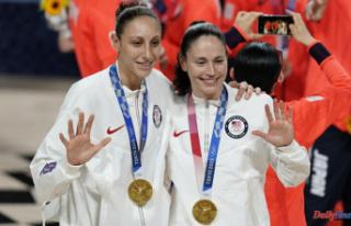 US wins women's hoops gold in Bird's final...