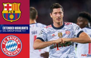 Barcelona vs. Bayern Munich result: Robert Lewandowski...