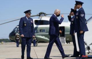 Biden will mark the 20th anniversary 9/11 at three...