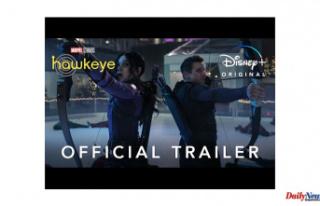 Disney+ 'Hawkeye' trailer shows Clint Barton's...