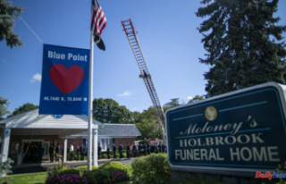 Gabby Petito's funeral home viewing is marked...