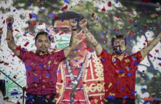 Manny Pacquiao, a boxer-senator, will run for Philippine...