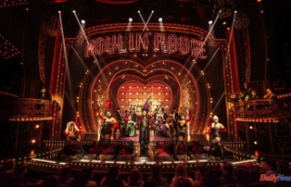 'Moulin Rouge! The Musical' returns home...