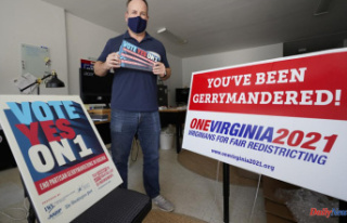 Splitting of redistricting commissions is common along...