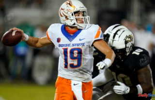 UCF overcomes 21-point deficit against Boise State...