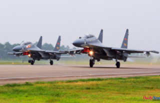 China's warplanes fly south of Taiwan, raising...