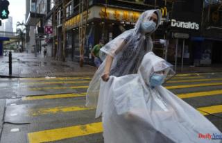 Hong Kong closes schools and stock markets due to...