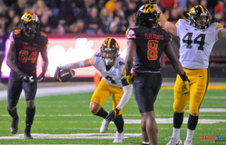 Maryland football suffers a crushing 51-14 defeat...