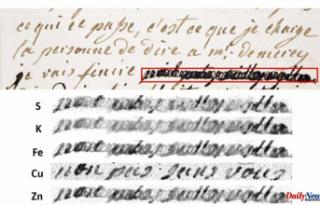 Scientists decipher Marie Antoinette's redacted...