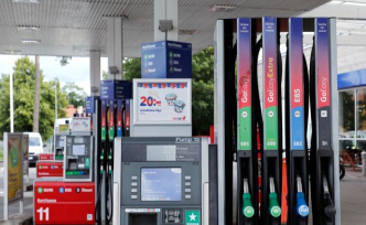 The price of petrol plummets down to 30 cents per litre on Friday