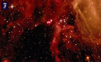 Near-earth stellar explosion: What was left of the Supernova SN 1987A